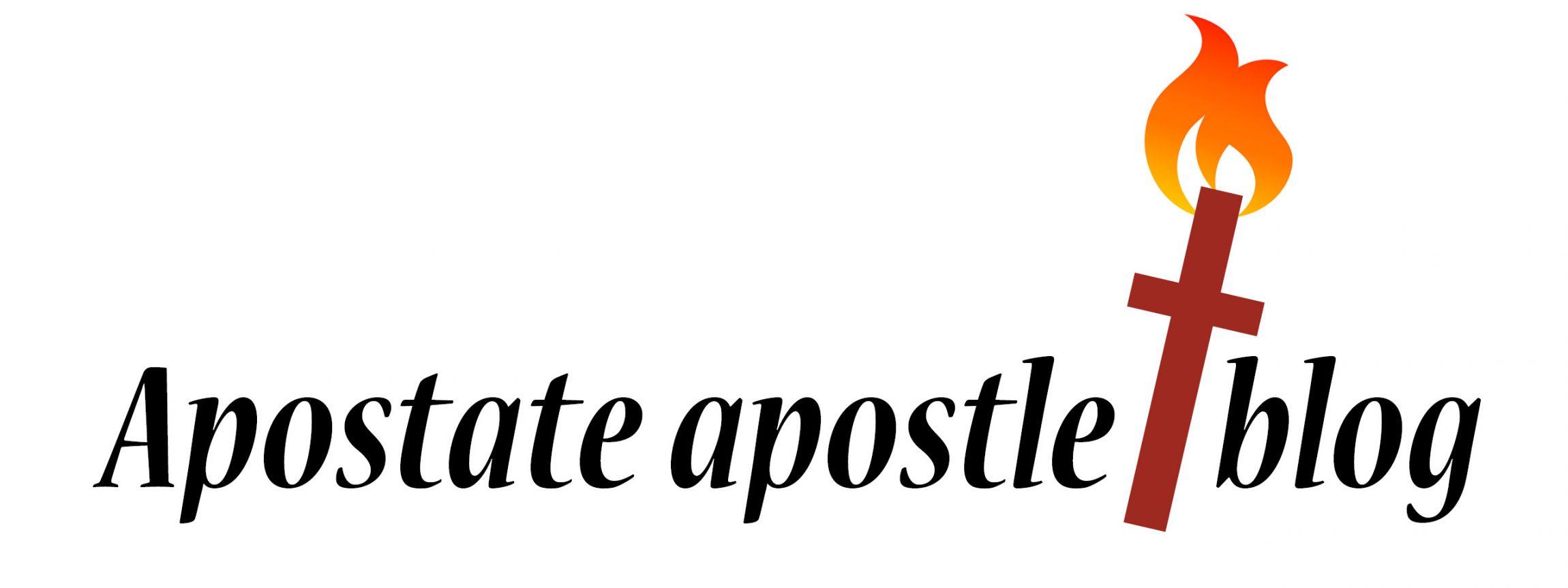 Apostate Apostle blog title w fire 11